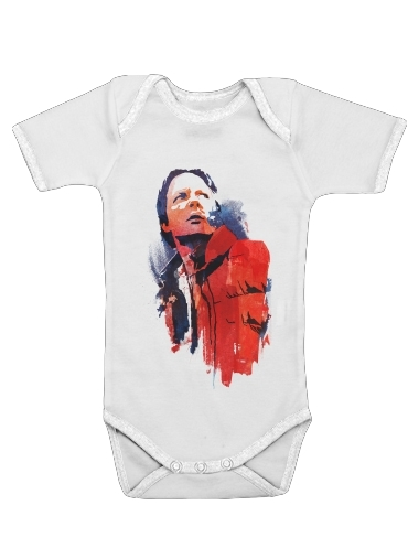 Marty Mcfly for Baby short sleeve onesies