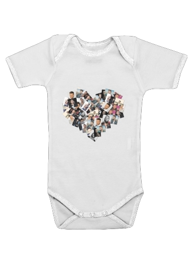 Matt Pokora for Baby short sleeve onesies