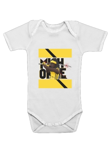 Onesies Baby Michonne - The Walking Dead mashup Kill Bill