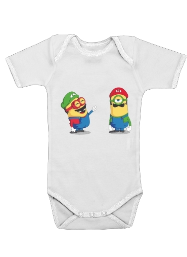 Mini Plumber for Baby short sleeve onesies