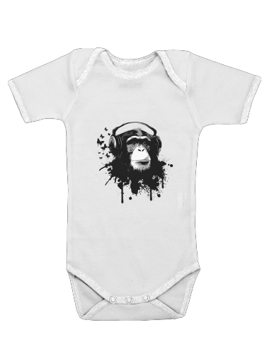 Monkey Business for Baby short sleeve onesies
