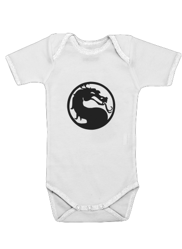 Mortal Symbol for Baby short sleeve onesies