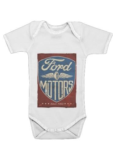 Onesies Baby Motors vintage
