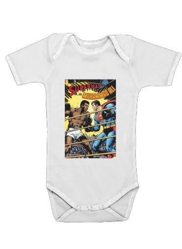 Muhammad Ali Super Hero Mike Tyson Boxen Boxing for Baby short sleeve onesies