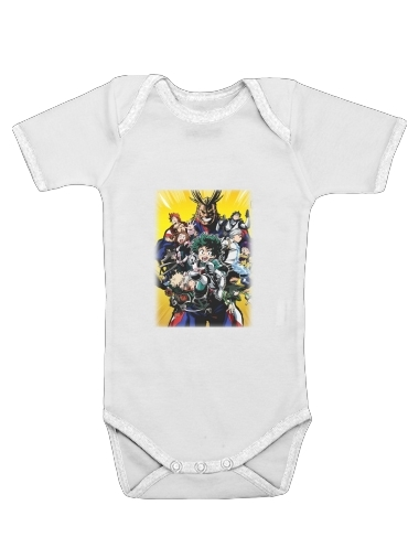 my hero academia Izuku Midoriya for Baby short sleeve onesies