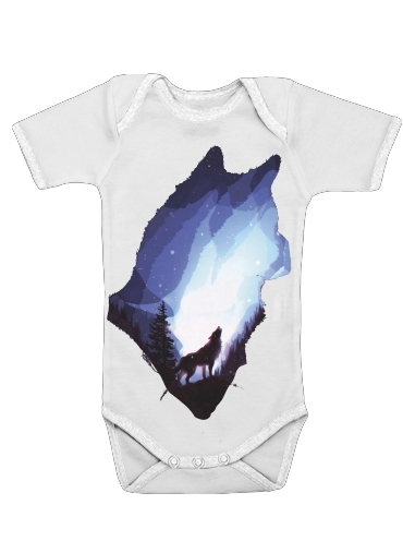 Onesies Baby Mystic wolf