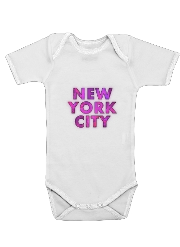 Onesies Baby New York City - Broadway Color