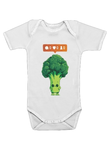 Onesies Baby Nobody Loves Me - Vegetables is good