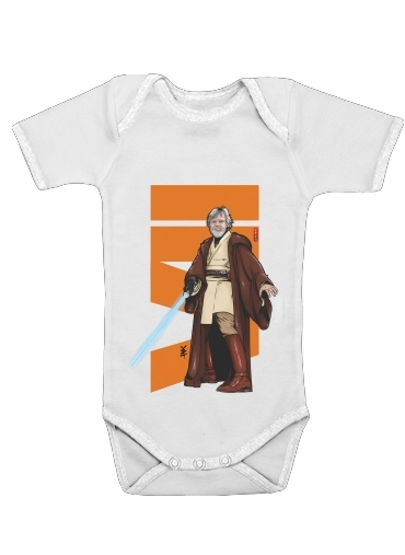 Old Master Jedi for Baby short sleeve onesies