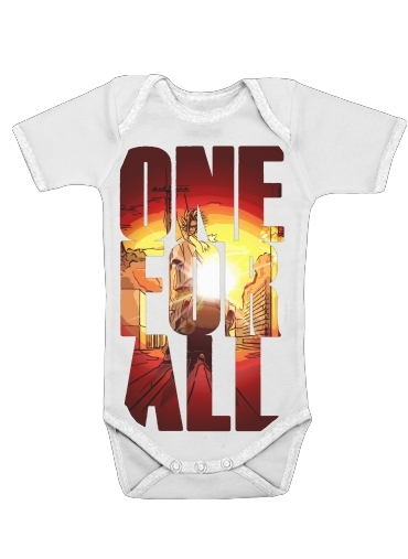 Onesies Baby One for all sunset
