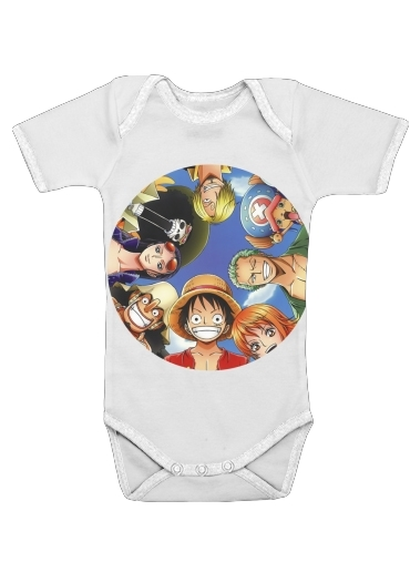 One Piece CREW for Baby short sleeve onesies