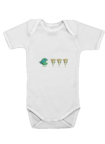 Pac Turtle for Baby short sleeve onesies