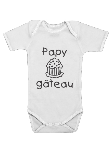 Onesies Baby Papy gateau
