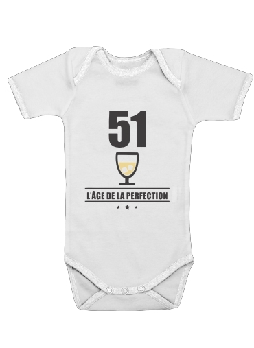 Onesies Baby Pastis 51 Age de la perfection