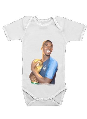 Onesies Baby Paul France FiersdetreBleus