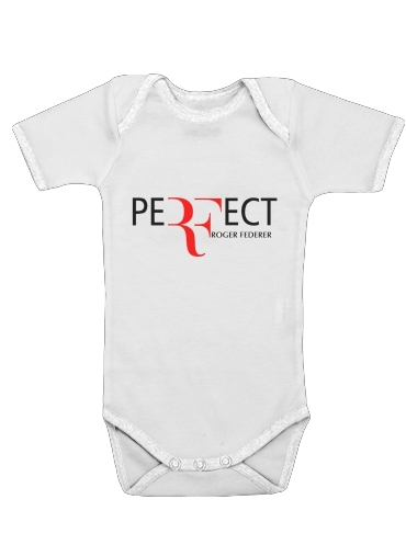 Onesies Baby Perfect as Roger Federer