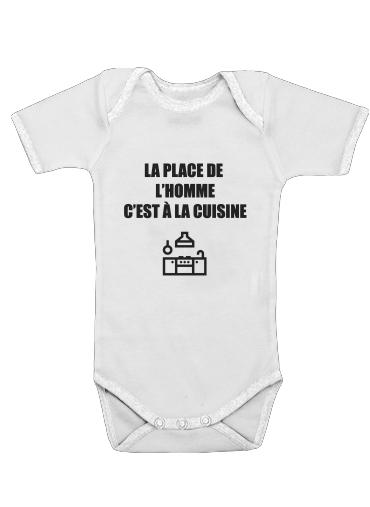 Onesies Baby Place de lhomme cuisine
