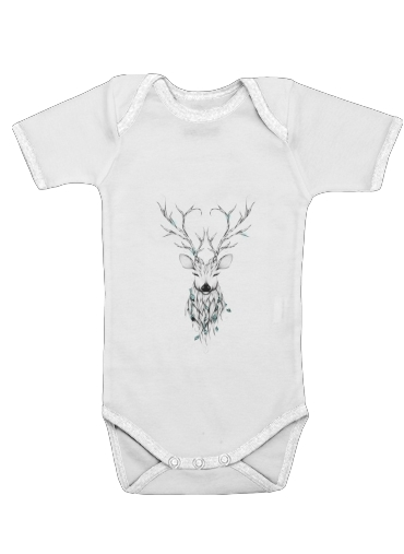 Poetic Deer for Baby short sleeve onesies