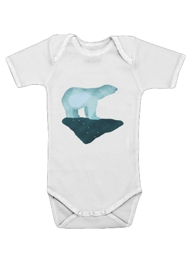 Polar Bear for Baby short sleeve onesies