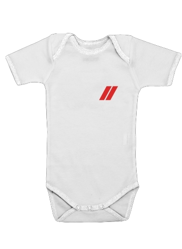 Pompier Caporal Fourreau for Baby short sleeve onesies