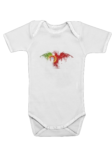 Onesies Baby Portugal Eagle