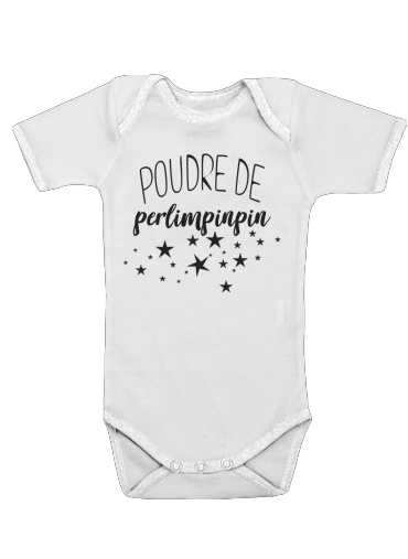 Poudre de perlimpinpin for Baby short sleeve onesies