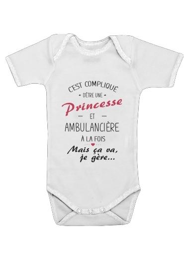 Onesies Baby Princesse et ambulanciere