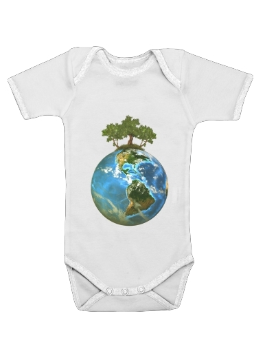 Protect Our Nature for Baby short sleeve onesies