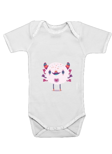 Puffy Monster for Baby short sleeve onesies