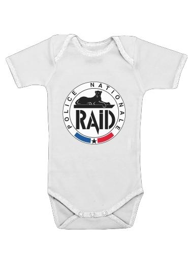 Onesies Baby Raid Police Nationale