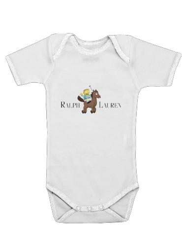 Ralph Lauren Parody for Baby short sleeve onesies