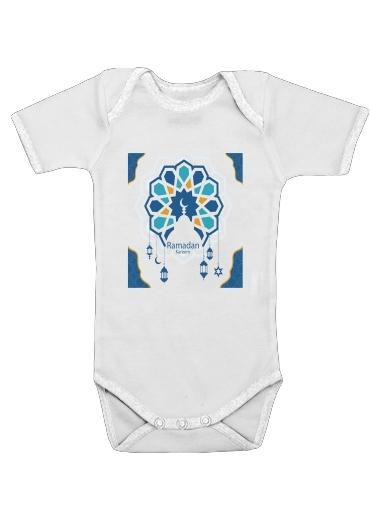 Onesies Baby Ramadan Kareem Blue