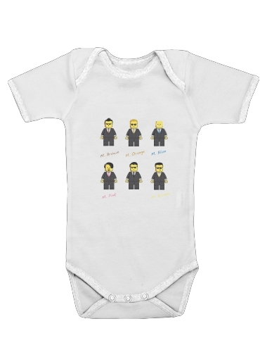 Reservoir Block for Baby short sleeve onesies