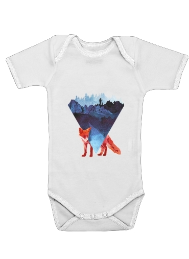 Risky road for Baby short sleeve onesies