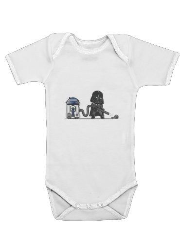 Robotic Hoover for Baby short sleeve onesies
