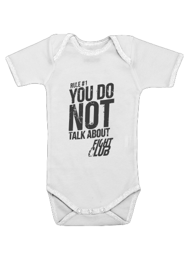 Onesies Baby Rule 1 You do not talk about Fight Club