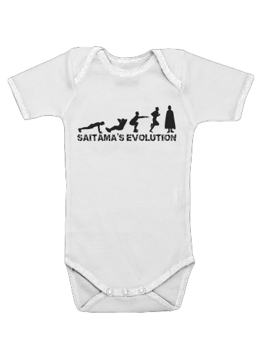 Onesies Baby Saitama Evolution