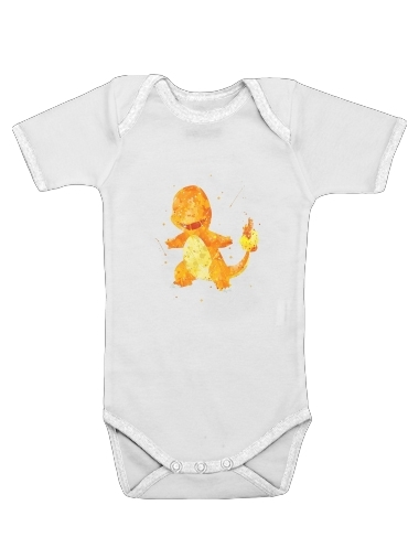 Onesies Baby Salameche Watercolor