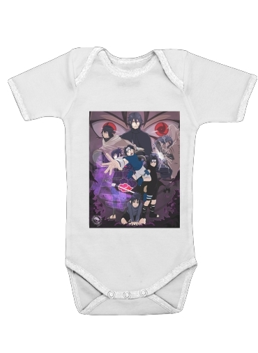 Sasuke Evolution for Baby short sleeve onesies