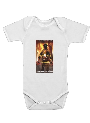 Onesies Baby Save or perish Firemen fire soldiers