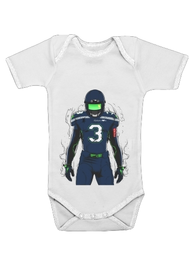 SB L Seattle for Baby short sleeve onesies