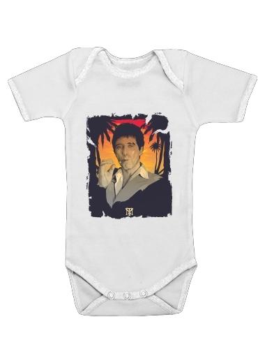 Onesies Baby Scarface Tony Montana