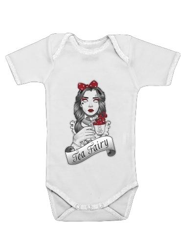 Onesies Baby Scary zombie Alice drinking tea