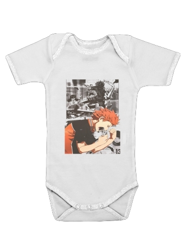 Shoyo Hinata Haikyuu for Baby short sleeve onesies