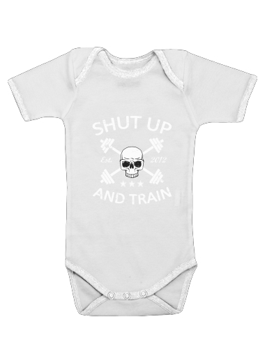 Onesies Baby Shut Up and Train