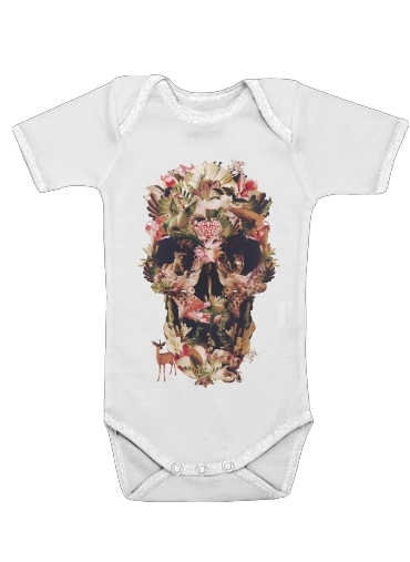 Onesies Baby Skull Jungle