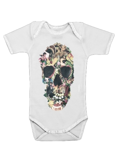 Skull Vintage for Baby short sleeve onesies