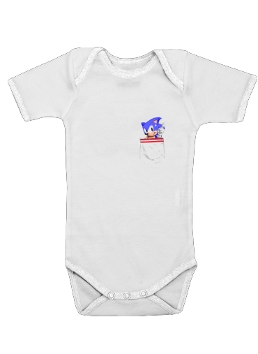 Onesies Baby Sonic in the pocket