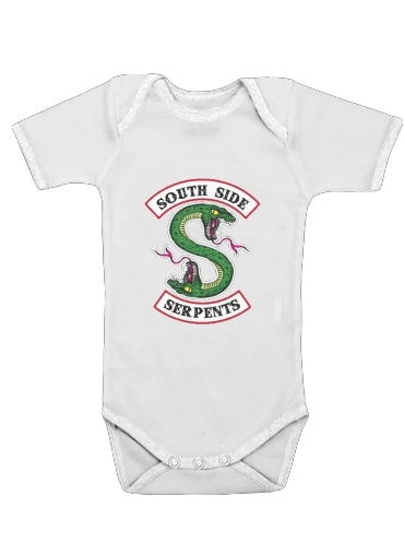 South Side Serpents for Baby short sleeve onesies