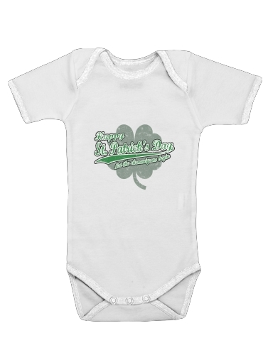 St Patrick's for Baby short sleeve onesies